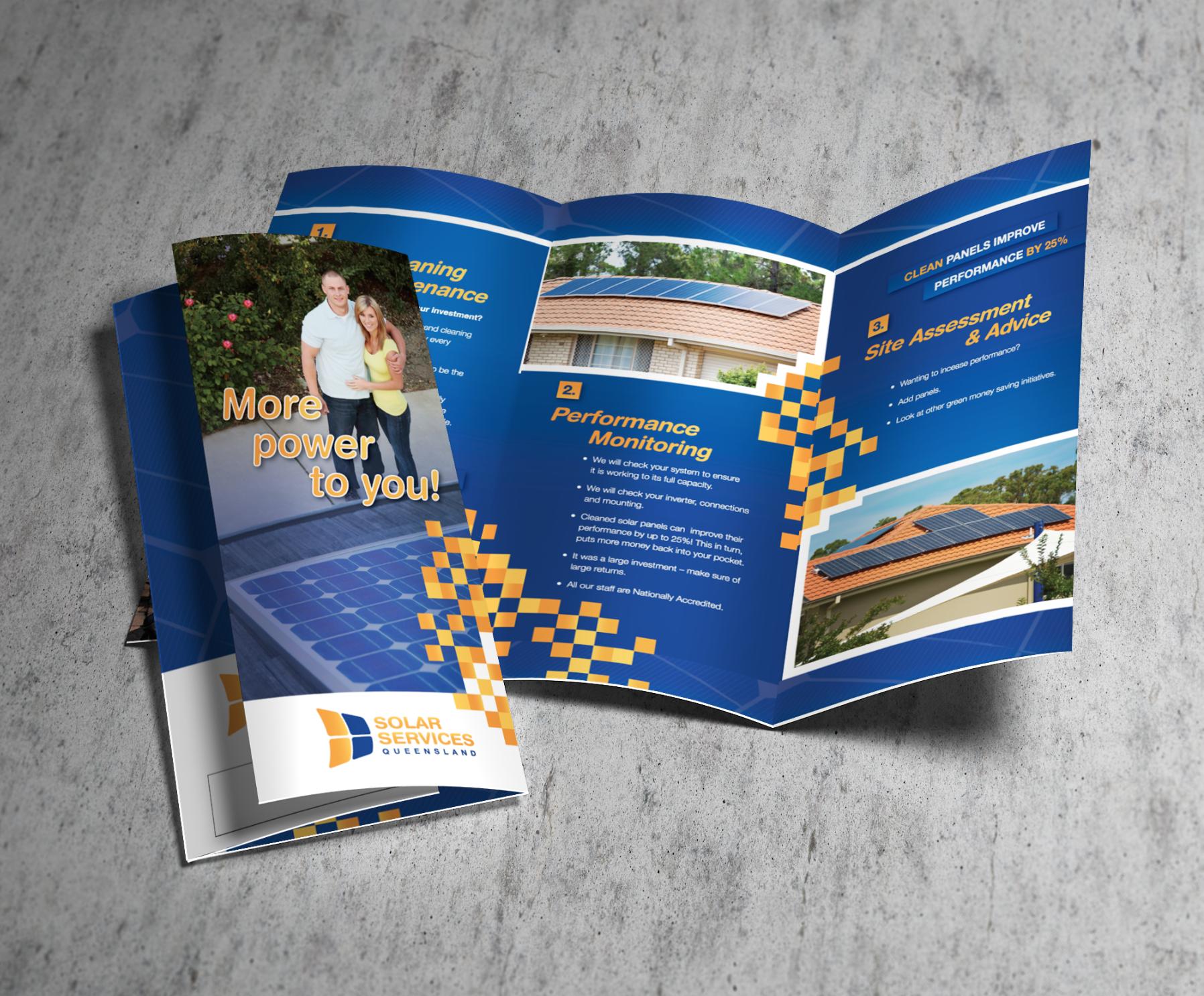 Solar Services Flyer