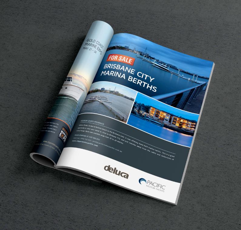 Pacific Motor Yachts Magazine Ad
