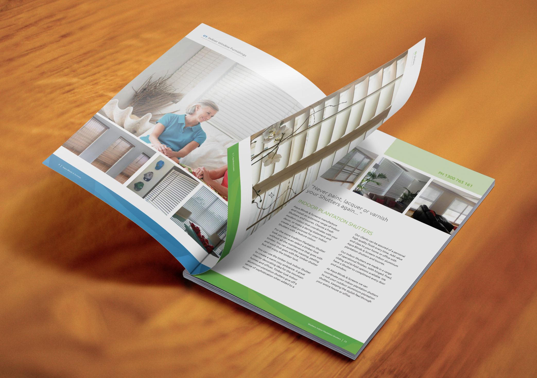 Aqua Blinds Product Brochure