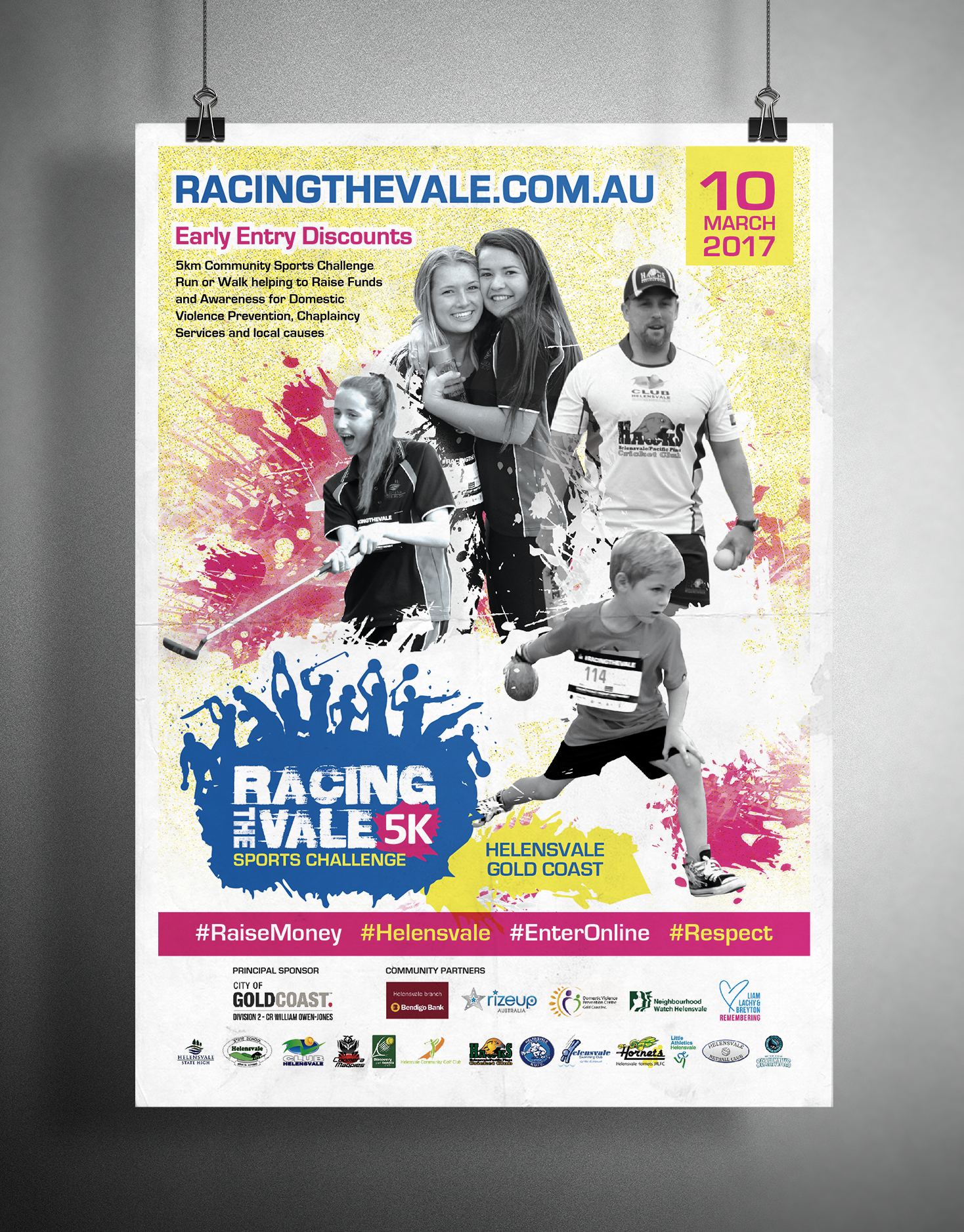 Racing the Vale Poster