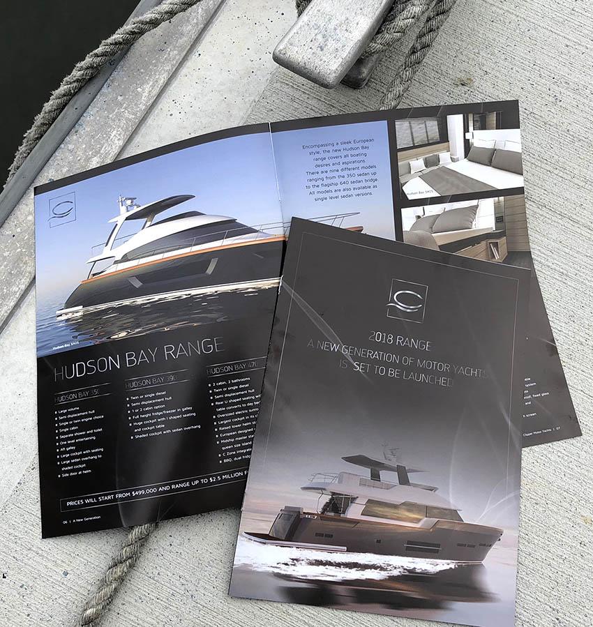 Clipper Motor Yachts Brochure